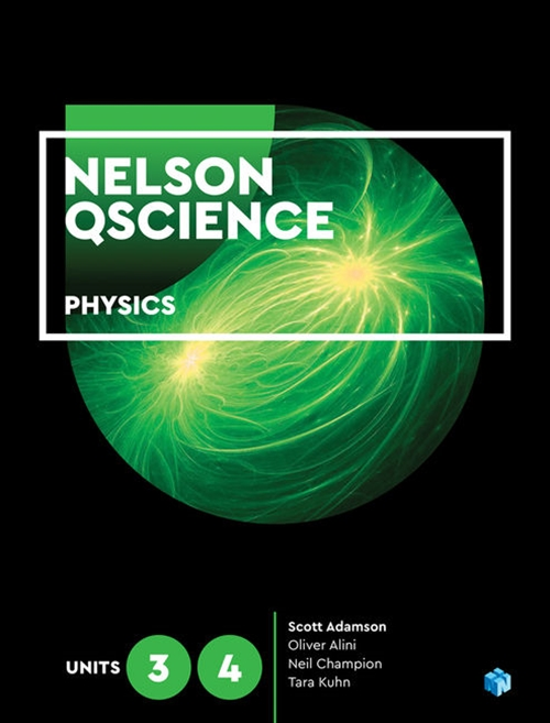 Nelson QScience Physics 3 & 4 (Student book with 4 Access Codes)