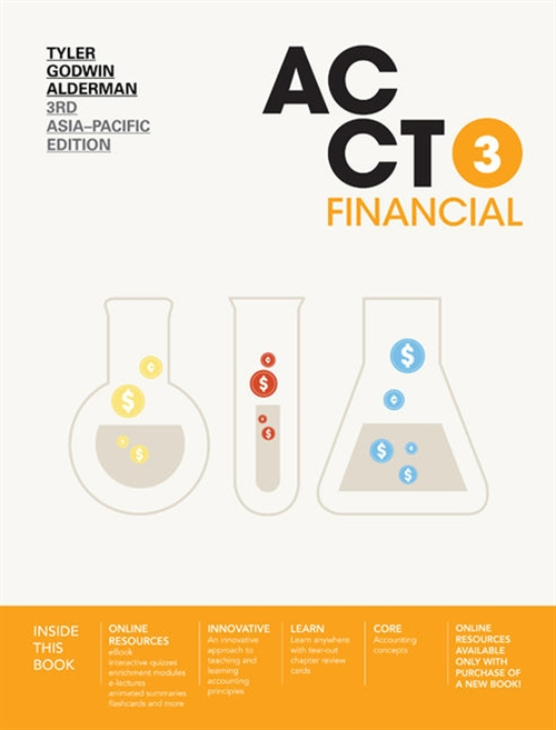 ACCT3 Financial with Online Study Tools 12 months