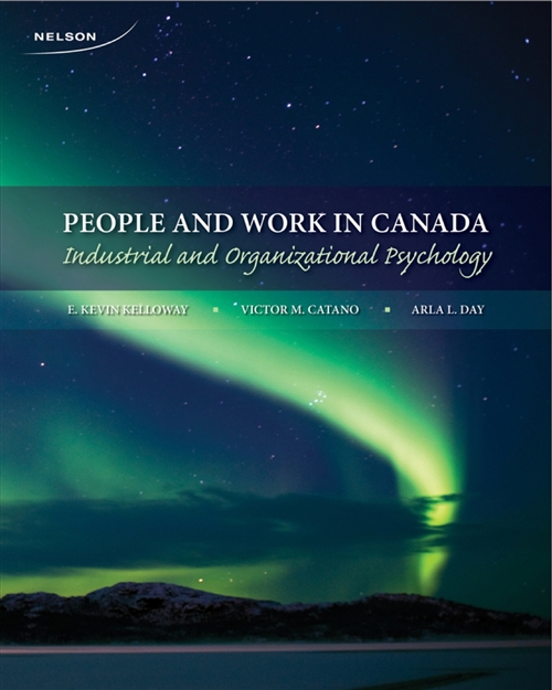 People and Work in Canada : Industrial and Organizational Psychology