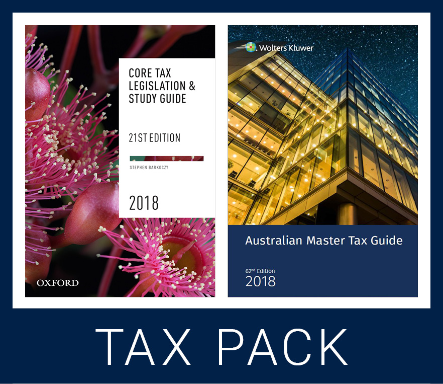Core Student Tax Pack 1 2018