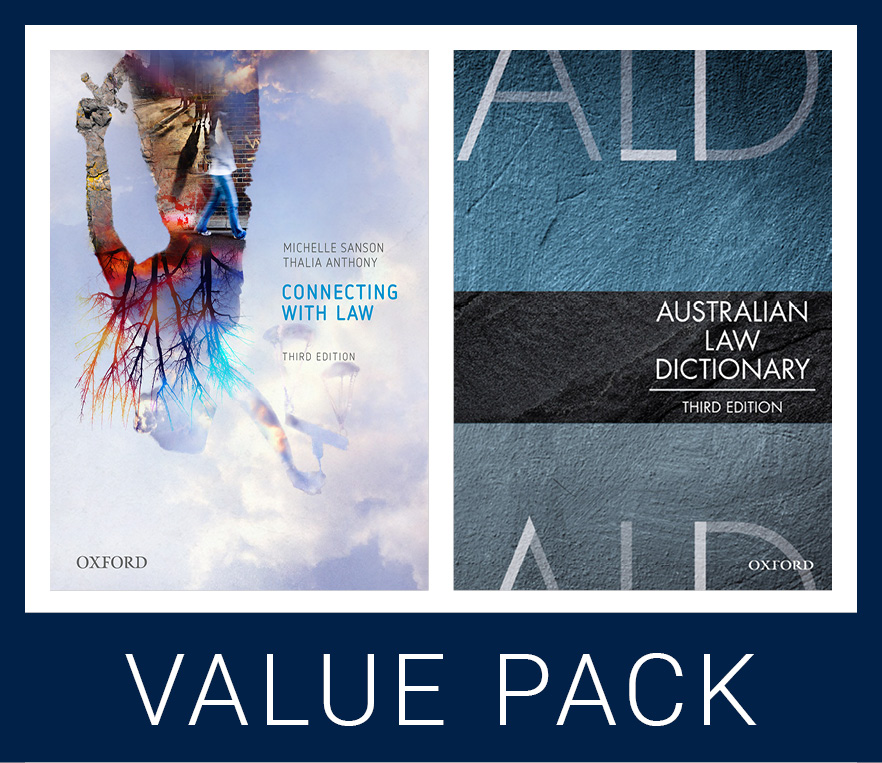 Connecting with Law 3e and Australian Law Dictionary 3e Value Pack