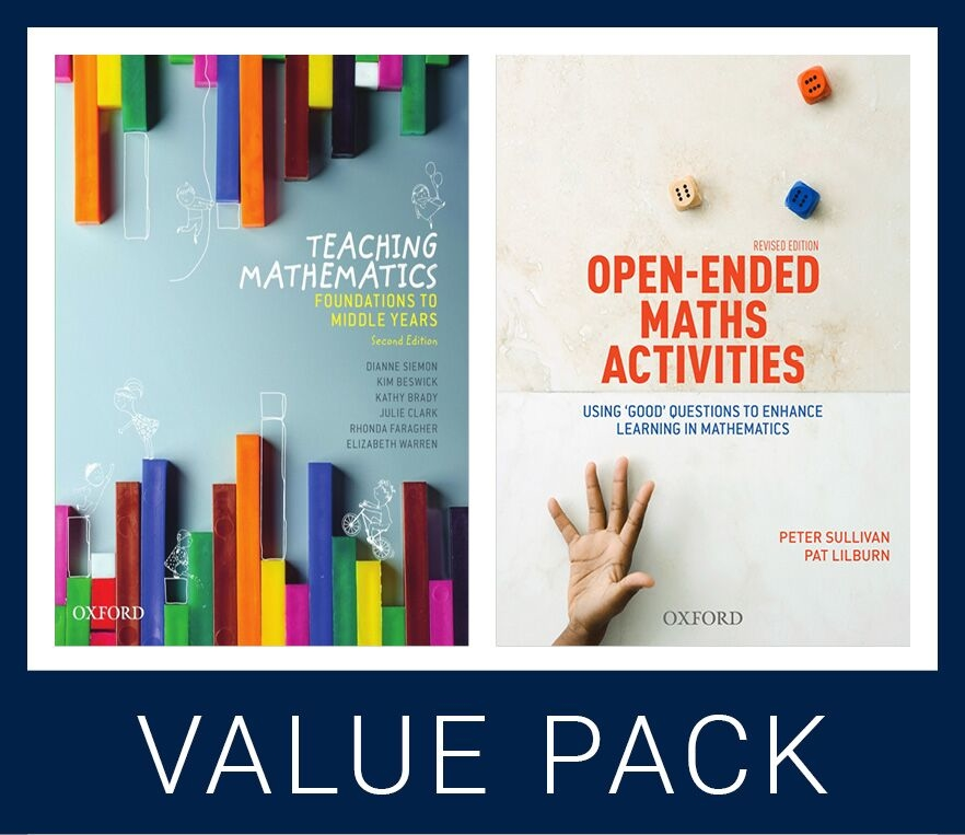 Teaching Mathematics 2e and Open Ended Maths Activities Revised Ed Value Pack