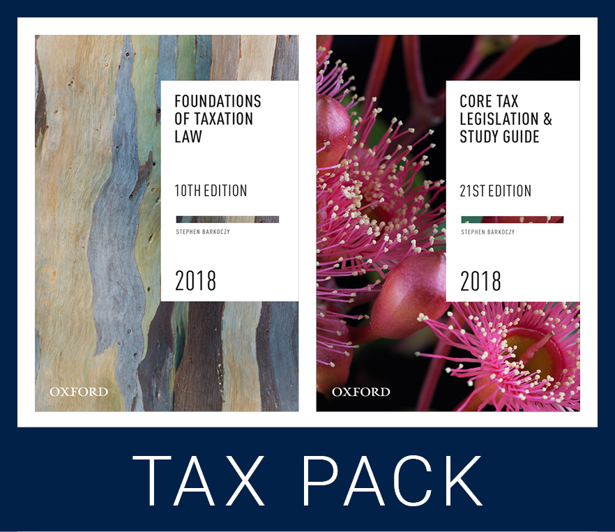 Foundations Student Tax Pack 1 2018