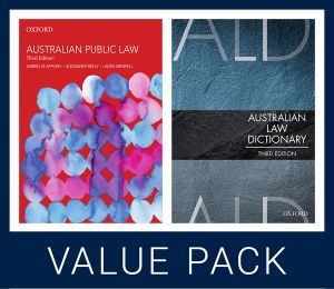 Australian Public Law 3e and Australian Law Dictionary 3e Value Pack