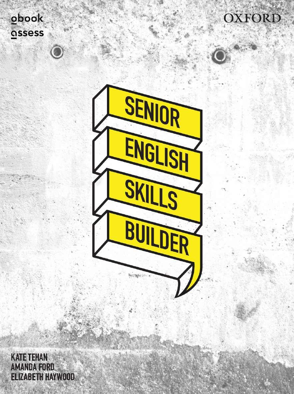 Senior English Skills Builder Student book + obook assess
