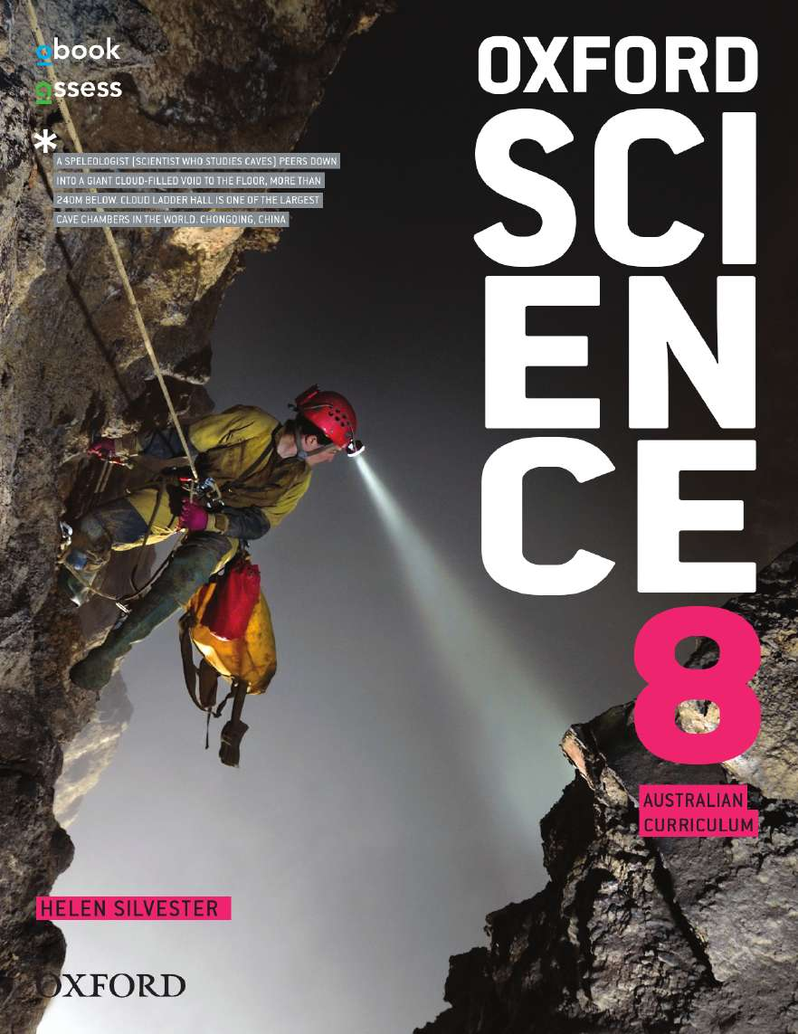 Oxford Science 8 Australian Curriculum Student Book + obook assess