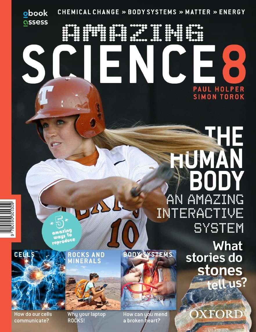 Amazing Science 8 Australian Curriculum Student Book + obook assess