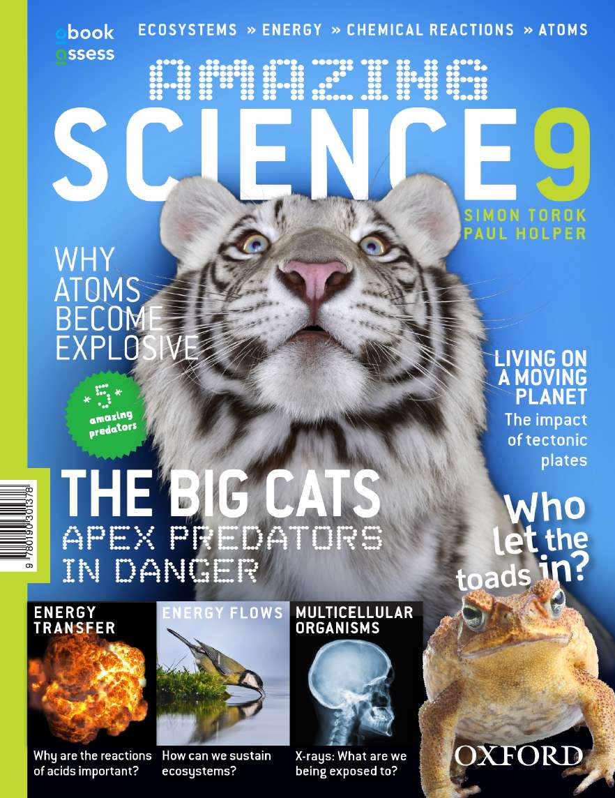 Amazing Science 9 Australian Curriculum Student Book + obook assess