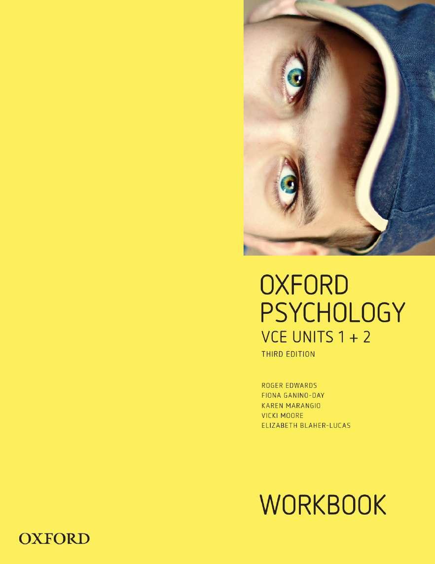 Oxford Psychology Units 1+2  Workbook