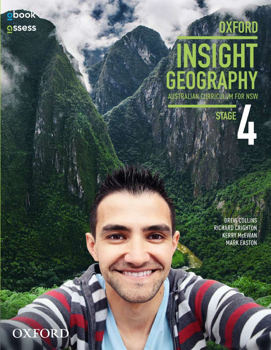 Oxford Insight Geography AC for NSW Stage 4 Student book + obook assess