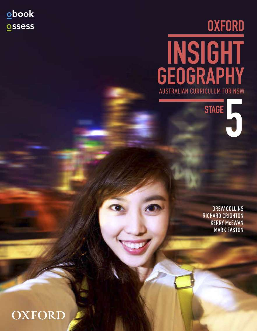 Oxford Insight Geography AC for NSW Stage 5 Student book + obook assess