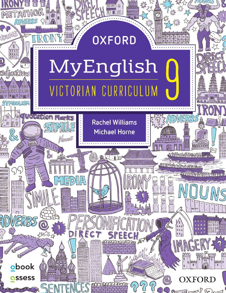 Oxford MyEnglish 9 Victorian Curriculum Student Book + obook assess + Upskill