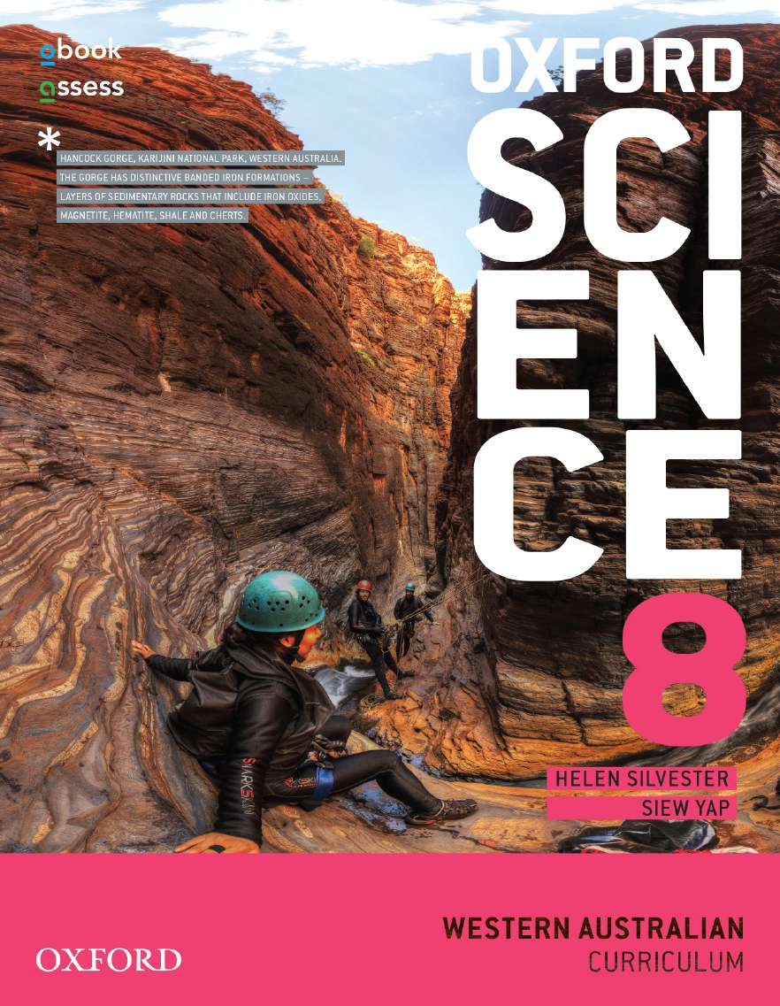 Oxford Science 8 Western Australian Curriculum Student book + obook assess