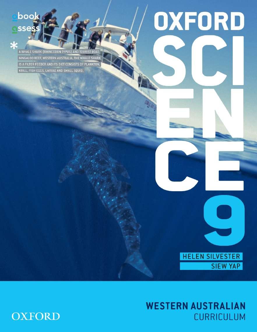 Oxford Science 9 Western Australian Curriculum Student book + obook assess