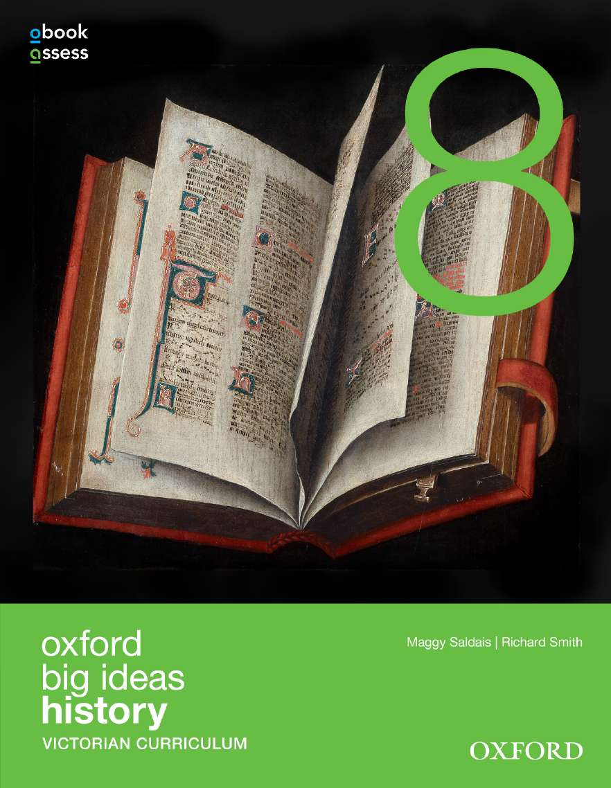 Oxford Big Ideas History 8 Victorian Curriculum Student book + obook assess