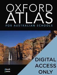 Oxford Atlas for Australian Schools Student obook assess (code card)