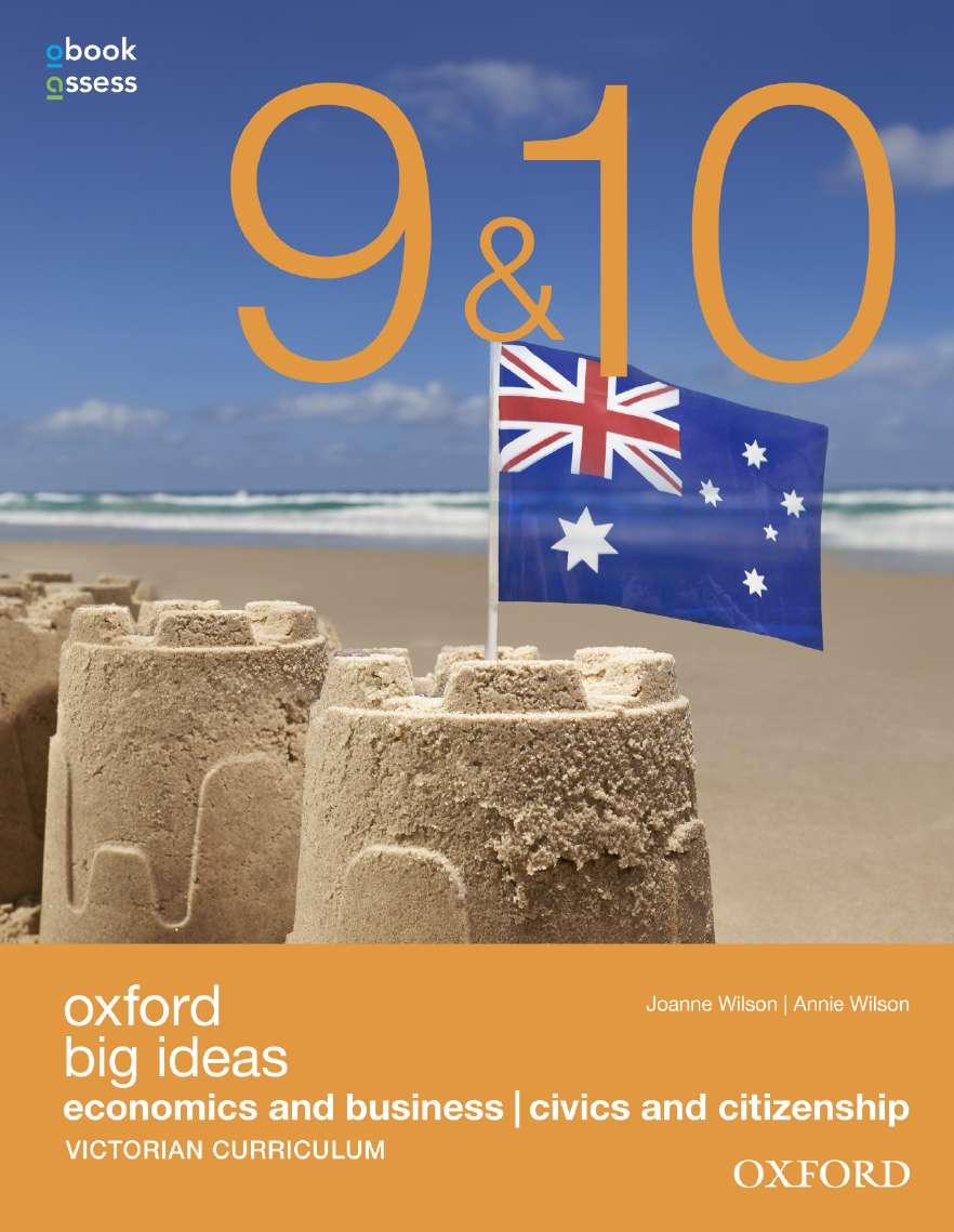 Oxford Big Ideas Eco & Bus/Civics& Cit 9&10 Vic Curr Student book + obook assess