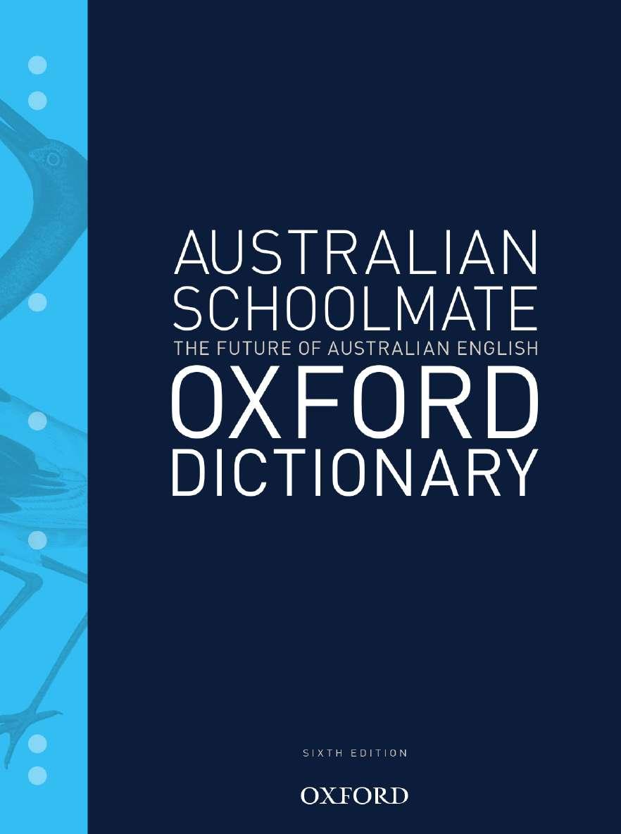 Australian Schoolmate Dictionary 6e
