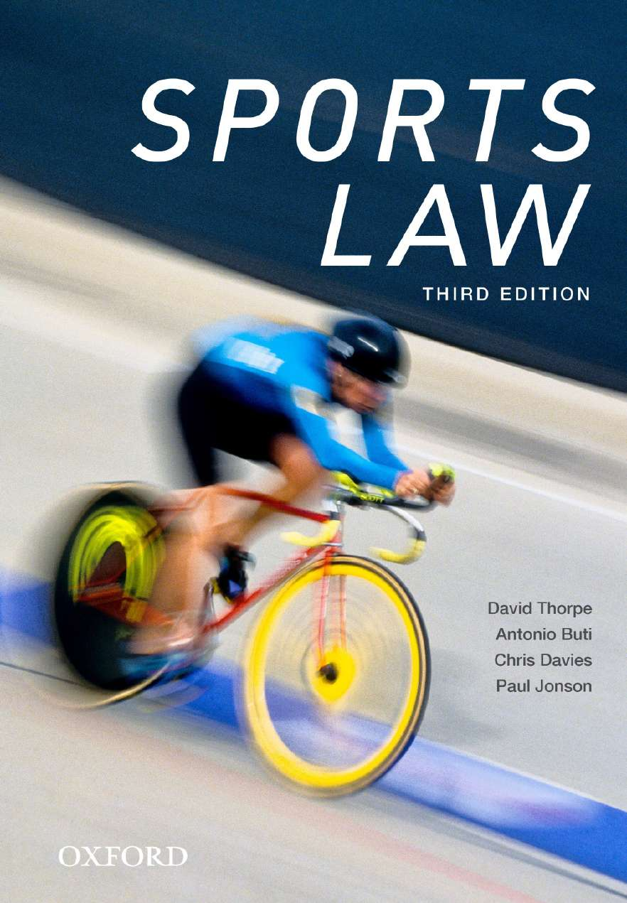 Sports Law eBook