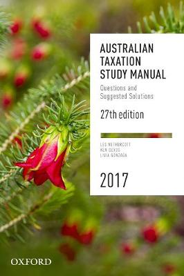 Australian Taxation Study Manual 27e 2017