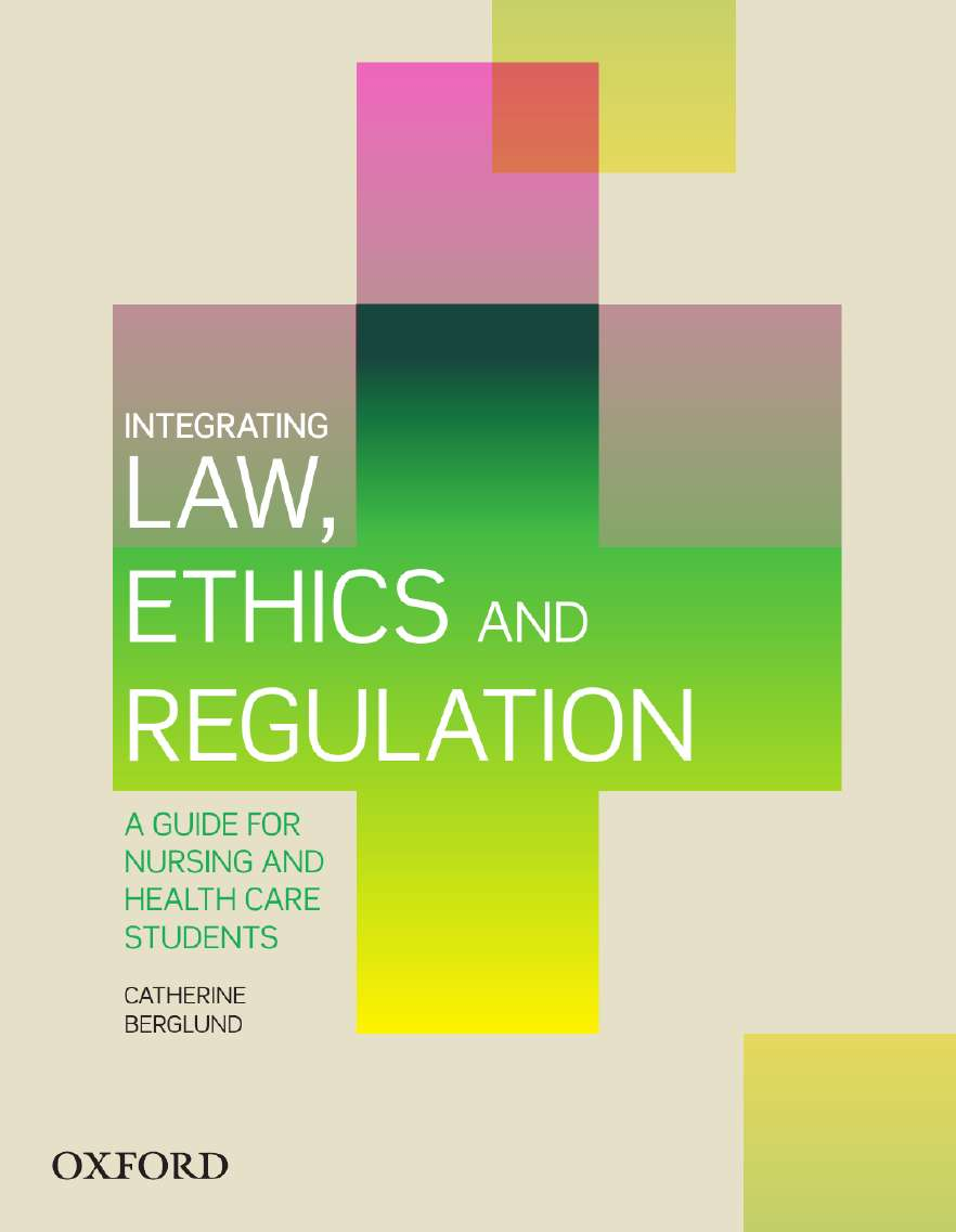 Integrating Law, Ethics and Regulation