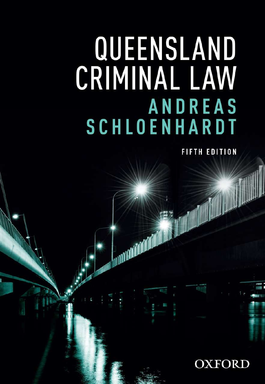 Queensland Criminal Law eBook