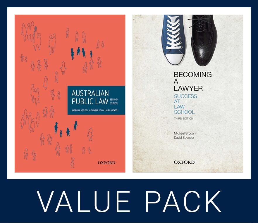 Australian Public Law and Becoming a Lawyer Value Pack