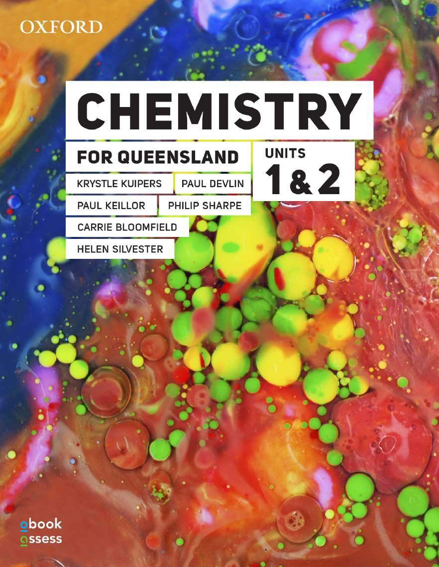 Chemistry for Queensland Units 1&2 Student book + obook assess