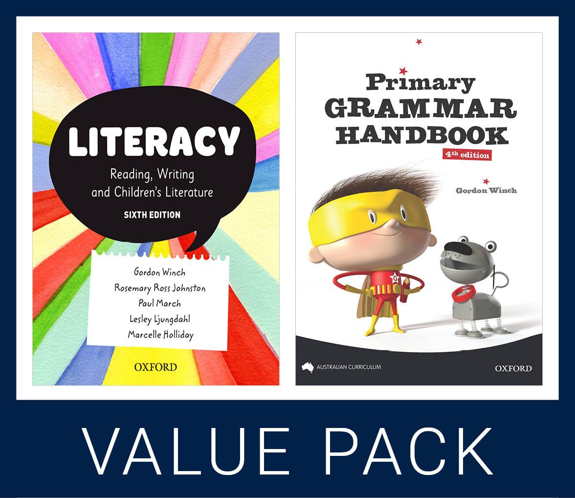 Literacy 6e and Primary Grammar Handbook Value Pack