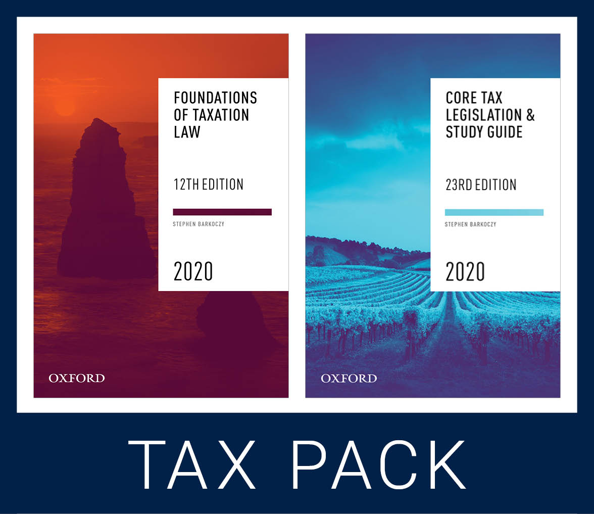 Foundations Student Tax Pack 1 2020