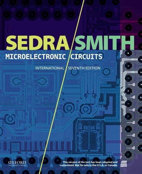 Microelectronic Circuits 7th Edition, International Edition