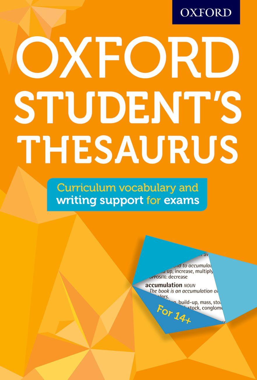 Oxford Student's Thesaurus 2016