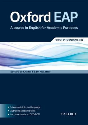 Oxford EAP B2 Student Book & DVD Pack