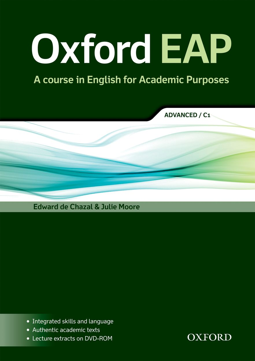 Oxford EAP C1 Student Book & DVD Pack