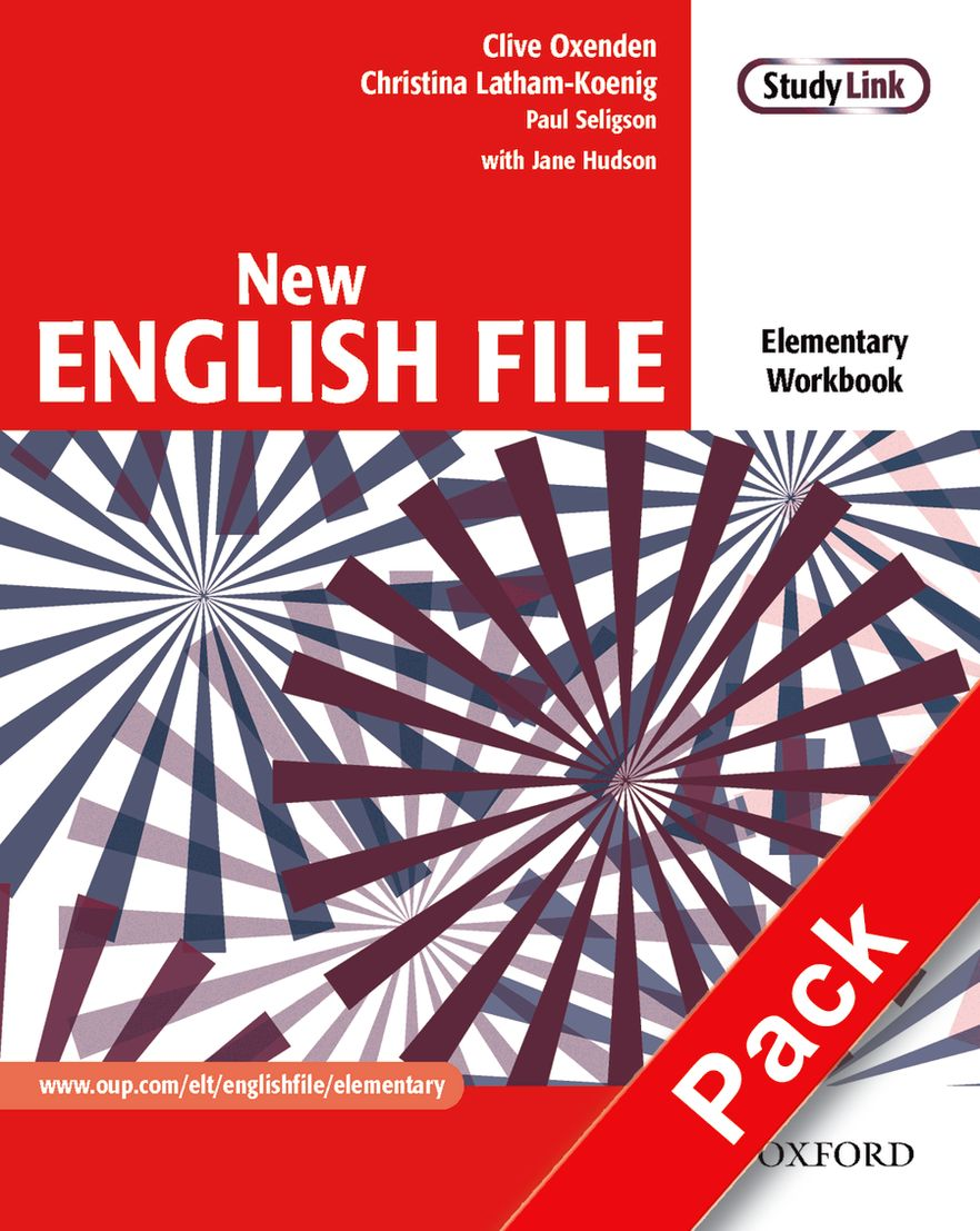New English File Elementary Workbook + Multirom + Answer Book Pack
