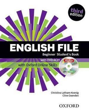 English File BeginnerStudent Book with iTutor and Online Skills