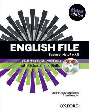English File Beginner Students Book with OOSP Multipack B Pack