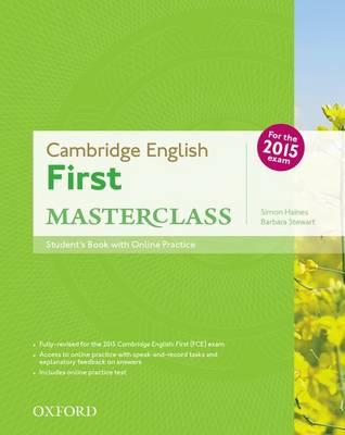 Cambridge English: First (FCE) Masterclass Student Book