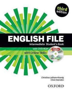 English File Intermediate Student's Book with iTutor and Online Skills