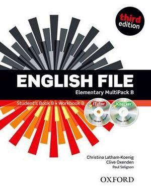 English File Elementary Multipack B with iTutor and iChecker