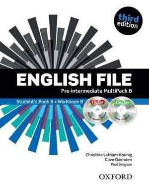 English File Pre-Intermediate MultiPACK B with iTutor and iCheck