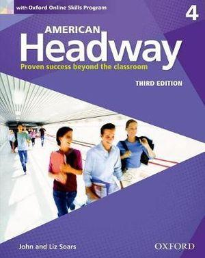 American Headway 4 Students Book and Oxford Online Skills Program Pack