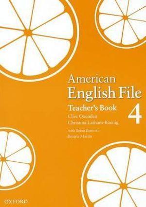 American English File Level 4 Teacher's Book