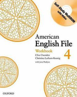 American English File Level 4 Workbook