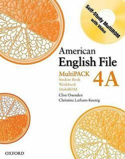 American English File Level 4 Student Book and Workbook Multipack A