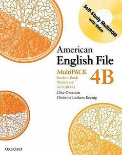 American English File Level 4 Student Book and Workbook Multipack B