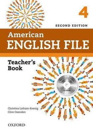 American English File Level 4 Teacher's Book with Testing Program CD-ROM