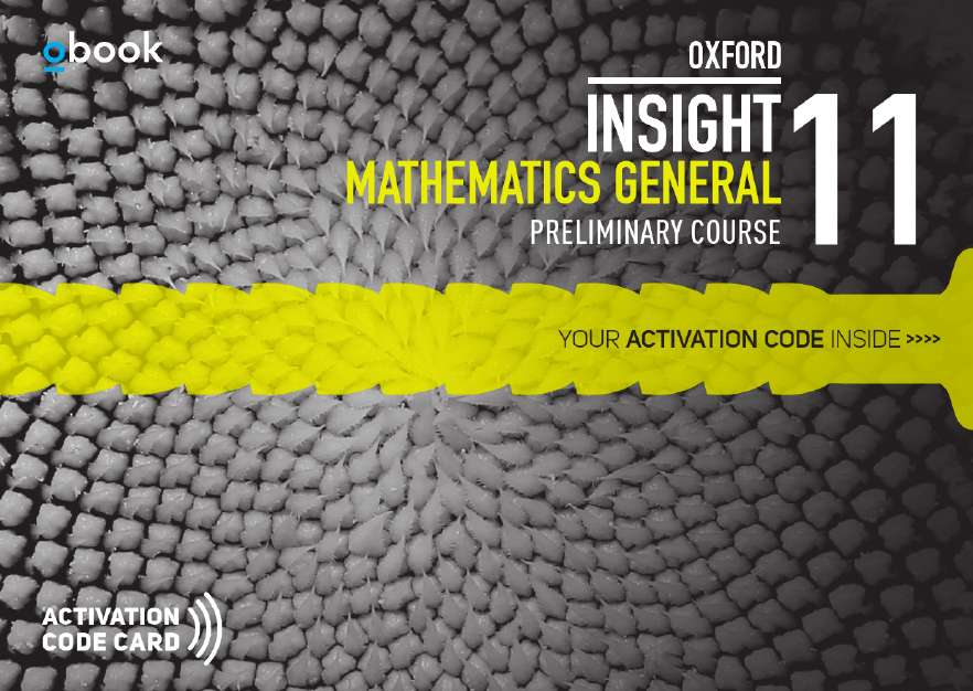 Oxford Insight Mathematics General Prel Course Student obook assess (code card)