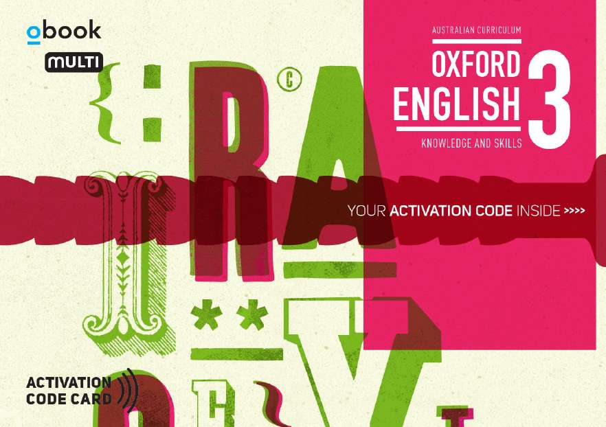 Oxford English 3 Knowledge and Skills AC Student obook assess MULTI (code card)