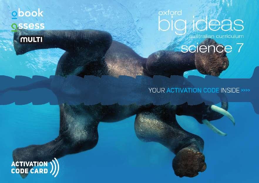 Oxford Big Ideas Science 7 AC Student obook assess MULTI (code card)